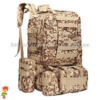 Тактический рюкзак 45-60 л Digital Desert
