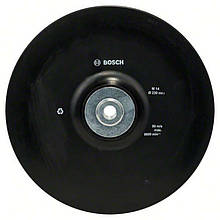 Опорная тарелка пластмас Ø230 фланц М14