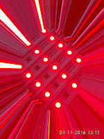 Модуль светодиодный SMD5050 3 led HR красный