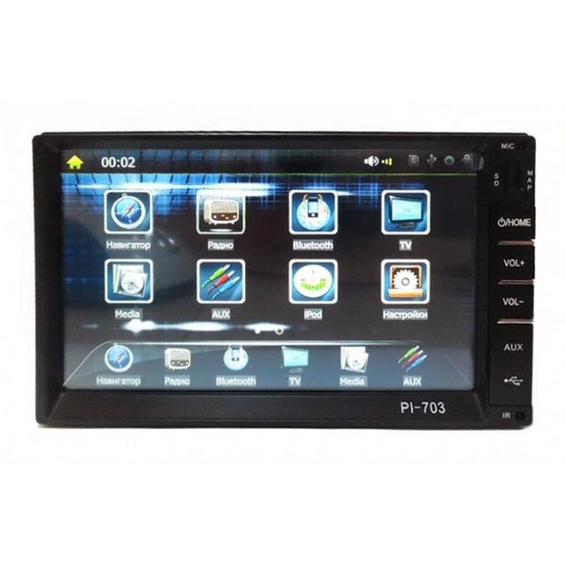 Автомагнитола Pioneer PI-703 2Din GPS навигатор, FM-тюнер, ТВ-тюнер