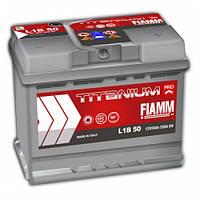 Акумулятор FIAMM TITANIUM PROFESSIONAL 6CT-50AзE 520A П (h=175)