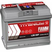 Акумулятор FIAMM TITANIUM PROFESSIONAL 6CT-60AзE 600A П (h=175) (L2B 60P)
