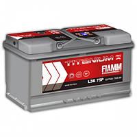 Акумулятор FIAMM TITANIUM PROFESSIONAL 6CT-75AзE 730A П (h=175)