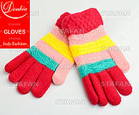 Перчатки с начёсом на девочку Douhia DP04-3-R