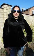 Шуба-куртка женская из меха речного Бобра