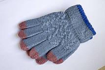 Зимние перчатки на тонкой резиночке