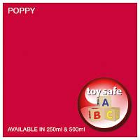Краски для небольших видов работ SMALL JOB PAINT  красный ( Poppy ) 250мл