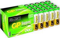 Батарейки АА GP Super (40шт) для тепловизоров Pulsar XD/XQ50s