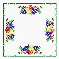 Схема для вышивки бисером  Рушник пасхальный 10