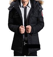 Мужская зимняя куртка парка В НАЛИЧИИ, чёрный. РАЗМЕР L, XL (PN_01)