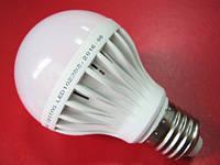 Лампа светодиодная с датчиком звука и света LED BULB 6W E27 дневной свет
