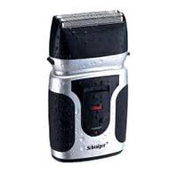 Электробритва для сухого и влажного бритья Schtaiger 4303-SHG: 5 Вт, аккумулятор, чехол, щетка