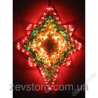 Световое  панно звезда 138 микроламп