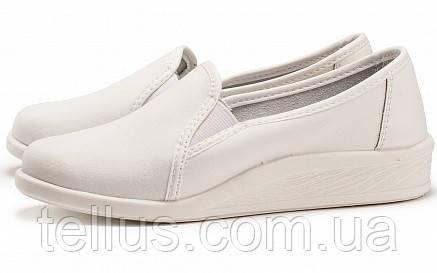 Туфли женские рабочие кожаные