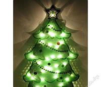 Новогодняя электрогирлянда панно елка 35 ламп