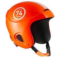 Шлем лыжный сноубордический детский WED'ZE H400 оранжевый