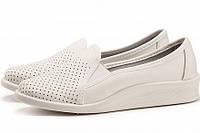 Туфли медицинские женские кожаные