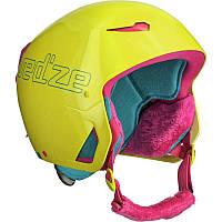 Шлем лыжный сноубордический детский WED'ZE STREAM 500 желтый