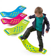 Доска балансир на присосках Fat Brain Toys - Teeter Popper Green