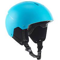 Шлем лыжный сноубордический детский WED'ZE H100 голубой