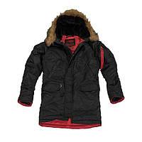 Куртка мужская Аляска слим Черный