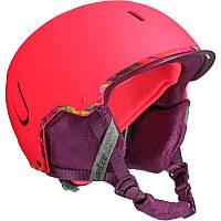 Шлем лыжный сноубордический женский WED'ZE FEEL 400 розовый