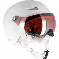 Шлем лыжный сноубордический унисекс 2 в 1 WED'ZE STREAM 550 S2 белый