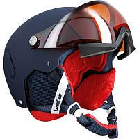 Шлем лыжный сноубордический женский 2 в 1 WED'ZE FEEL 450 синый
