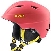 Шлем лыжный сноубордический детский Uvex AIRWING 2 PRO розовый