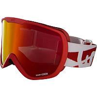 Очки лыжные сноубордические унисекс WED'ZE G-TMAX 400 красные