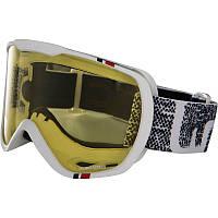 Очки лыжные сноубордические унисекс WED'ZE G-TMAX 400 белые