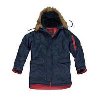 Куртка мужская Аляска слим Синий