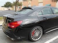 Бленда козырек спойлер заднее стекло тюнинг Mercedes CLA W117