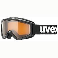 Очки лыжные сноубордические унисекс Uvex SPEEDY PRO черные