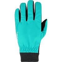 Перчатки женские лыжные сноубордические Wed'ze WARM FIT голубые