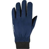 Перчатки женские лыжные сноубордические Wed'ze WARM FIT синие