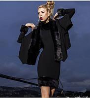 Шикарное черное платье с болеро. Арт 8925/74