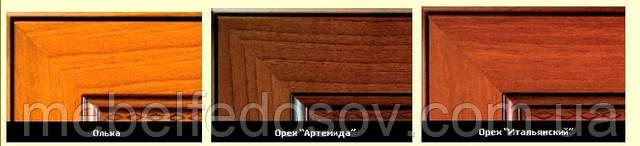 Модульная гостиная Виктор (БМФ) цвет ольха, орех артемида, орех итальянский