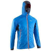 Куртка мужская осенняя, альпинистская Simond HYBRID SPRINT голубая