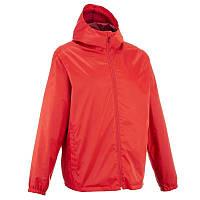 Куртка мужская осенняя, водонепроницаемая Quechua RAINWARM 50 красная