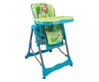 Кресло для кормления высокое Alexis Baby Mix зеленое