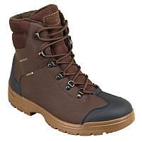 Ботинки охотничьи мужские демисезонные водонепроницаемые Solognac LAND 100 WAR коричневые