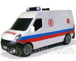 Машинка Скорая Помощь функциональный Sos Dickie 3313055A