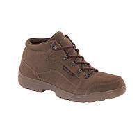 Ботинки охотничьи мужские водонепроницаемые Solognac LAND 100 WAR коричневые