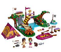 Bela Friends 10493 «Спортивный лагерь: сплав по реке», 325 деталей, 2 человечка, лодка, палатка