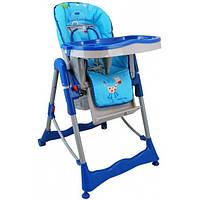 Кресло для кормления высокое Alexis Baby Mix синее