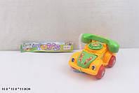 Каталочка 081A телефон,на веревочке,в пакете 18*13*11см