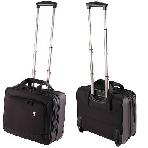 """Кейс-пилот для путешествий с отделением для лэптопа 15.6"""" DTBG DS3118BL Black черный"""
