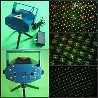 Лазерная установка светомузыка Disco laser S-09 RG, лазерный проектор