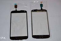 Тачскрин для LG E960 Nexus 4, чёрный, оригинал (Китай)